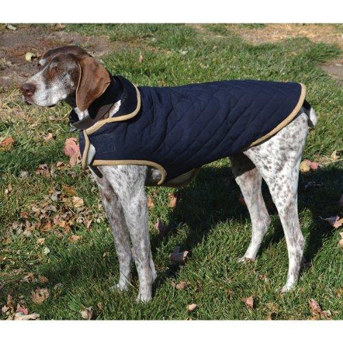 Advance Pet Products Nanotex Dog  Coats, 18-Inch, Blue
