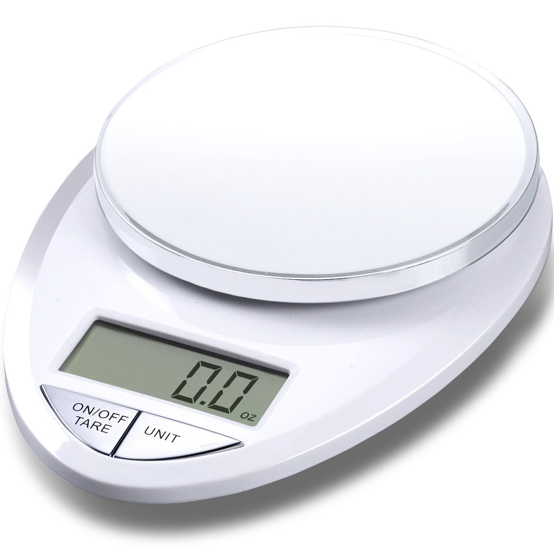 EatSmart Precision Pro - Multifunction Digital Kitchen Scale w/ Extra Large LCD