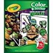 2 PACKS: Crayola Teenage Mutant Ninja Turtles Color \'n Sticker Books (04-5824)