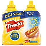 SCS French's Classic Yellow Mustard - 30 Oz. - 2 Ct.