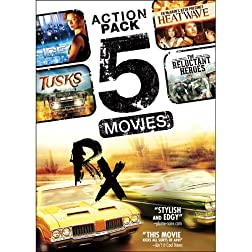 5-Movie Action Pack V.7: Tusks / The Reluctant Heroes / RX / Ice / Ed McBain's 87th Precinct: Heatwave