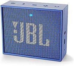 JBL GO Haut Parleur Ultra Portable avec Batterie Rechargeable et Connexion Bluetooth Compatible avec Smartphones, Tablettes et Appareils MP3 - Bleu