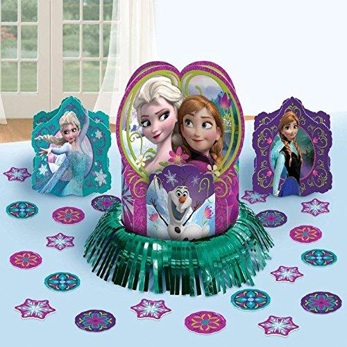 Disney's Frozen Table Decorating Kit, Blue/Purple/Multi-colored