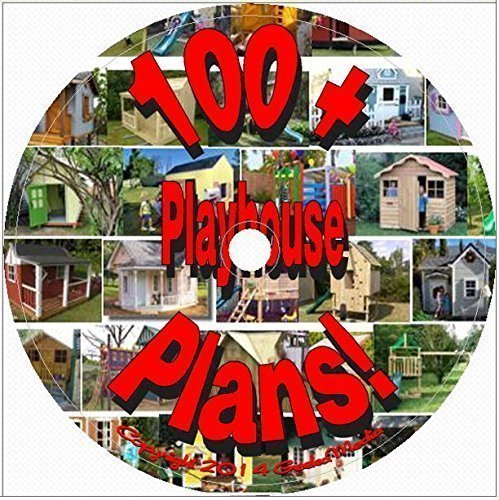 100 + Playhouse Plans & Designs Plus Outdoor Furniture & Accessories D120 (Outdoor Playhouse Plans compare prices)