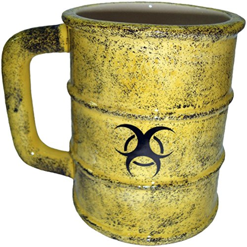 Nemesis Now Toxic Waste Mug Tazza giallo