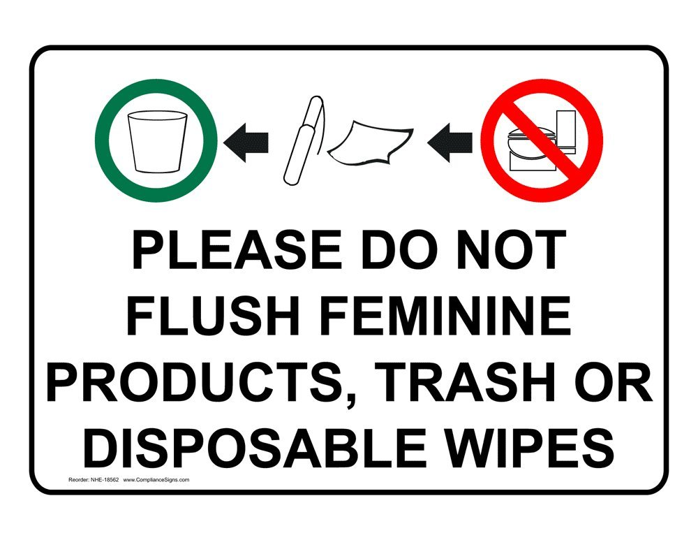 Do Not Use Restroom Just B Cause