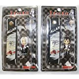 """D. Gray Man Strap & Keychain, a Set of 2 Pcs, 1,25"""", Style May Same, #70725"""