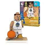 OYO Sports NBA Minifigure Golden State Warriors Stephen Curry (Color: Black, Tamaño: Small)