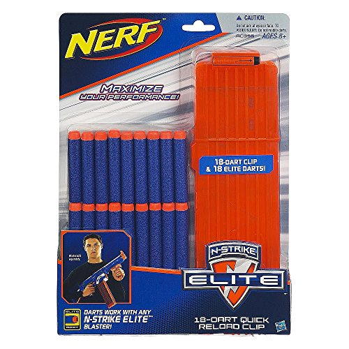 Official Nerf N-Strike Elite Series 18-Dart Quick Reload Clip (Nerf Guns With Magazine compare prices)
