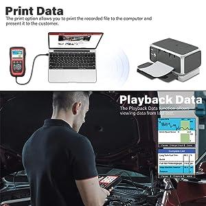 Autel MaxiCheck Pro ABS Brake Bleed OBD2 Scanner Car Diagnostic Tool
