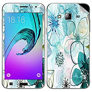 Theskinmantra Flowers shade Samsung Galaxy J3 mobile skin