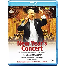 Tchaikovsky; Rossini; Verdi: New Year's Concert [Blu-ray]