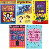 JACQUELINE WILSON JACQUELINE WILSON FIVE BOOK SET COLLECTION / BURIED ALIVE / DUSTBIN BABY / STARRING TRACEY BEAKER / THE JACQUELINE WILSON QUIZ BOOK / THE JACQUELINE WILSON FRIENDSHIP JOURNAL