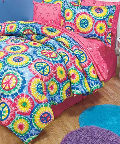 Teen Girl Bedding 8339 back