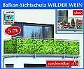 WENKO Balkonumspannung Sichtschutz Wilder Wein von WENKO auf Gartenmöbel von Du und Dein Garten