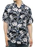 (マルカワジーンズパワージーンズバリュー) Marukawa JEANS POWER JEANS VALUE アロハシャツ 半袖 大きいサイズ シャツ レーヨン ハイビスカス 10color ランキングお取り寄せ