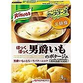 クノール カップスープ 男爵いものポタージュ 3袋入×10個