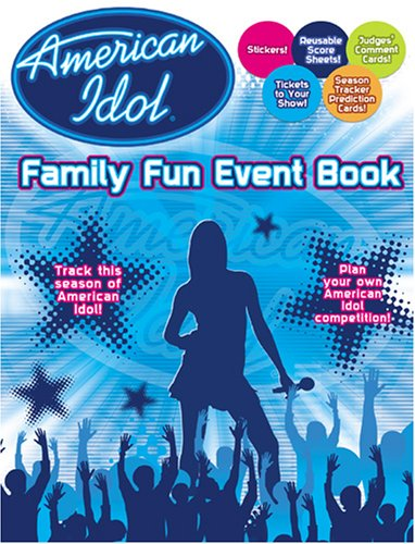 American Idol Family Fun Event Book