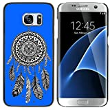 Royal Blue : Graphic4You Dreamcatcher (Royal Blue) Thin Slim Rigid Hard Case Cover For Samsung Galaxy S7 Edge