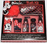 Disney Minnie Mouse Bath Kit 7 Pc