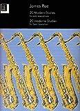 Etudes modernes Rythme et interprétation (20)-Rae - Sax solo