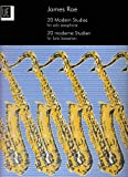 img - for 20 Modern Studies for Solo Saxophone book / textbook / text book