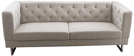 DG Casa Linen Palomar Sofa, Cream