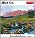 Alpen 2014: Sehnsuchts-Kalender. 53 h...