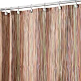 InterDesign Oodle Shower Curtain, Earthtone, 72-Inch by 72-Inch
