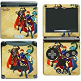 Fire Emblem Marth Roy Video Game Vinyl Decal Skin Sticker Cover for Nintendo GBA SP Gameboy Advance System