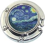 Starry Night Photo Purse Hanger Handbag Table Hook