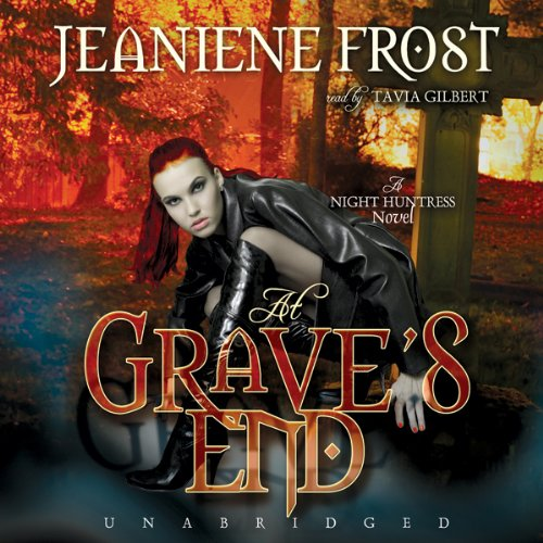 At Grave S End Night Huntress Book 3 Audiobook border=