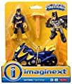 Fisher-Price, Imaginext, DC Super Friends, Batgirl Action Figure and Cycle