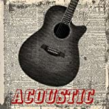 ACOUSTIC By Greene, Taylor Art Print On Canvas 12x12 Inches