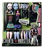 Monster High Y9328 - Crea Monster Vampire y Sea Monster starter pack