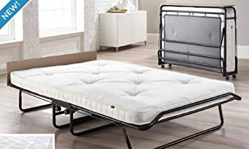 JAY-BE Supreme Automatic Folding Double Guest Bed with Pocket Sprung Mattress