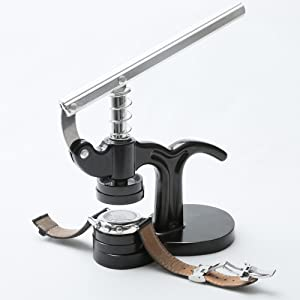 14pcs Watch Press Set,18mm to 50mm Watch Case Closer, Eventronic Watch Repair Kit (black)