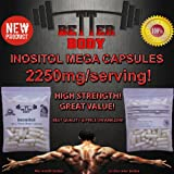 INOSITOL 120X750mg MEGA Capsules (Hair Growth, Colon Cleansing, Liver Detoxifier, Anxiety)