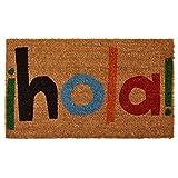 """Home & More 121561729 Hola Doormat, 17"""" x 29"""" x 0.60"""", Multicolor"""