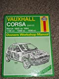 Vauxhall Corsa (Petrol) Owner's Workshop Manual (Haynes Owners Workshop Manuals)
