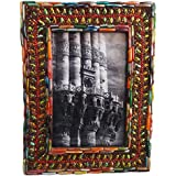 Indian Photo Frame Home Decor Vintage Style Handcrafted Material Antqiue Picture Farme Table Top Decorative Photo...