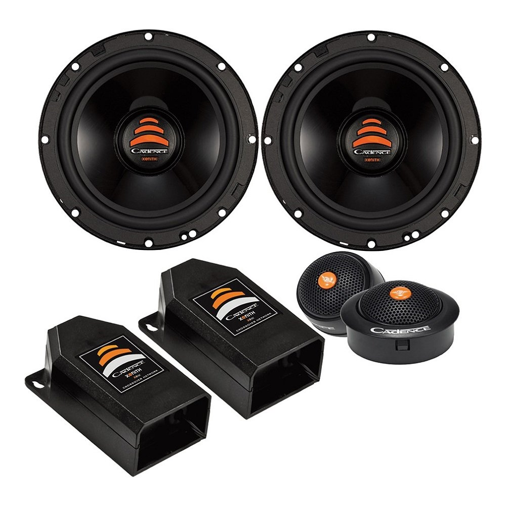 "Cadence XS65K 500W 6.5"" 2-Way Xenith Series Component Car Speakers"