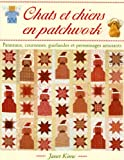 Chats et Chiens en Patchwork. Panneaux, Couronnes Guirlandes et Personnages Amusa