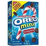 Oreo Seasonal Mini Candy Cane, Chocolate Cookies, 13 Ounce (368g)