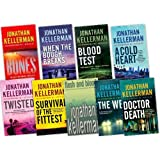 Jonathan Kellerman 9 Books Collection Pack Set RRP: �71.91 (When The Bough Breaks, The Web, Flesh and Blood, A Cold Heart, Twisted, Blood Test, Survival of the Fittest, Bones, Doctor Death)by Jonathan Kellerman