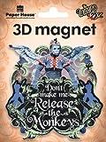 Flying Monkey 3D Magnet