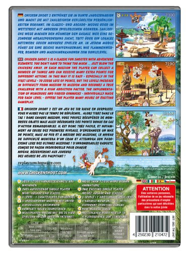 Chicken-Shoot-2-Edition-2012-DVD-ROM-Computerspiel-Importado-de-Alemania