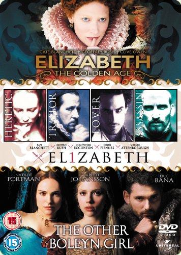 Elizabeth / Elizabeth: The Golden Age / The Other Boleyn Girl [Import anglais]
