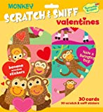 Peaceable Kingdom / Monkey Love Scratch & Sniff Banana Scented Valentine Cards