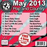 All Star Karaoke May 2013 Pop and Country Hits A (ASK-1305A)